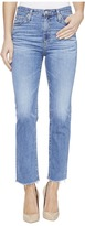 AG Adriano Goldschmied Isabelle High-Rise Straight Crop in 14 Years Daring Women's Jeans