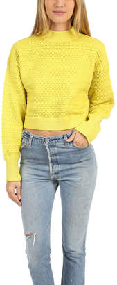 3.1 Phillip Lim Faux Plait Cropped Sweater
