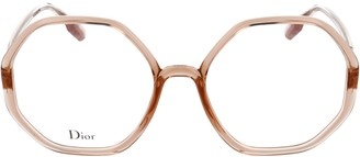 Christian Dior Geometric Frame Glasses