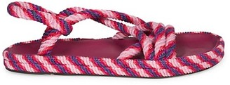 Isabel Marant Espa Braided Slingback Sandals