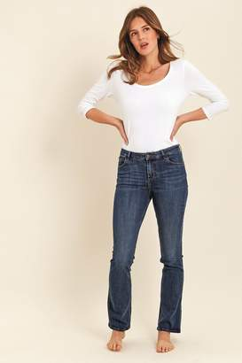 Fat Face Womens FatFace Selsey Boot Cut Jeans - Blue