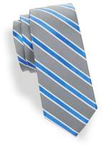 Lord & Taylor Boy's Repp Stripe Silk Tie