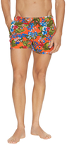 2xist Tropical Floral Cabo Square-Cut Swim Trunk
