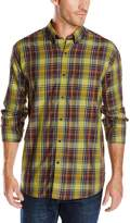 Cutter & Buck Men's Long Sleeve Griffin Plaid Shirt, Multi