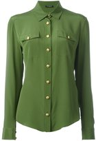 Balmain classic shirt - women - Silk - 38