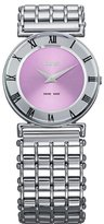 Jowissa Women's J2.019.M Roma Pastell Stainless Steel Purple Dial Roman Numeral Watch