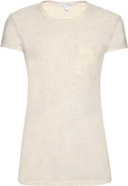 James Perse Patch-pocket cotton-blend jersey T-shirt