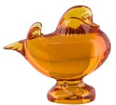 Baccarat Duck on Base Figurine