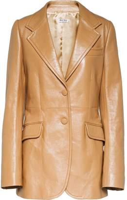 Miu Miu classic leather jacket