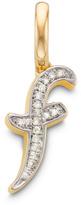 Monica Vinader Diamond Alphabet Pendant F