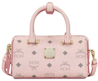 MCM Boston Essential Visetos Original Satchel