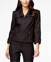 Calvin Klein Denim Zip-Front Jacket