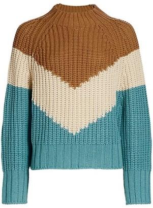 Essentiel Antwerp Wavinci Chevron Sweater