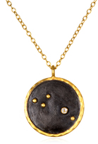 Satya Jewelry Gold Birthstone Zodiac Necklace