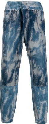 Ambush Acid Wash Denim Track Pants