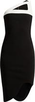 Thierry Mugler Milano stretch-crepe dress
