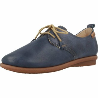PIKOLINOS Leather Casual lace-ups Calabria W9K Blue