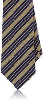 Barneys New York Men's Striped Silk Necktie-YELLOW