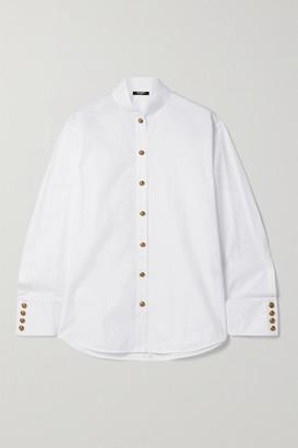 Balmain Cotton-poplin Shirt - White
