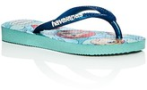 Havaianas Girls' Slim Princess Glitter Flip-Flops - Walker, Toddler, Little Kid