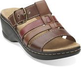 Clarks Lexi Alloy Slide Strap Sandals