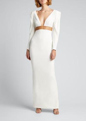 Stella McCartney Rayna Embellished Column Dress