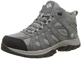 Columbia Women's Canyon Point MID Waterproof Hiking Shoes, Grey (Light Grey, Oxygen), 36.5 EU