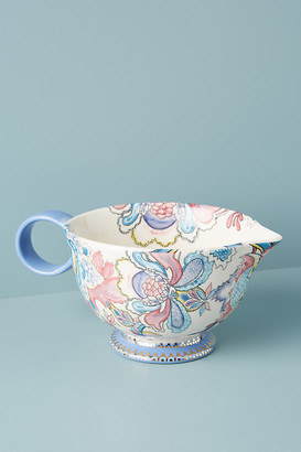 Anthropologie Agnes Mixing Bowl By in Blue Size ALL