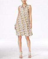 Alfani Printed Shirtdress, Only at Macy's