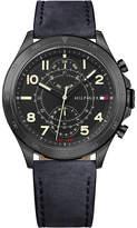 Tommy Hilfiger 1791345 Hudson black ion-plated steel watch