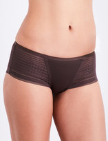 Simone Perele Muse jersey and mesh shorty briefs