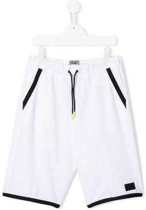 Il Gufo TEEN panelled bermuda shorts