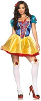 Leg Avenue Women's 2 Piece Fairytale Snow White Costume