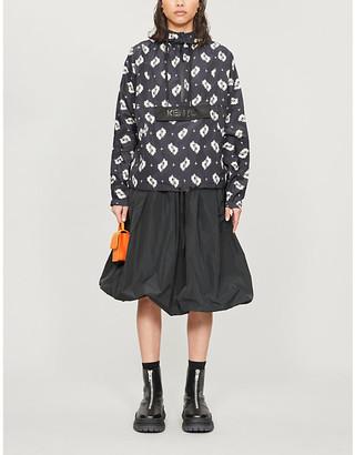 Kenzo Ikat printed wshell jacket