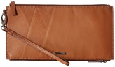 Lodis Mill Valley Under Lock & Key Kai Double Zip Pouch with Wristlet