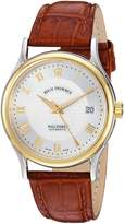 Revue Thommen Men's 20002-2542 Wallstreet Tradition Analog Display Swiss Automatic Brown Watch