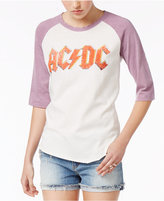 Junk Food Clothing Cotton AC/DC Graphic T-Shirt