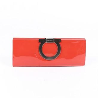 Salvatore Ferragamo Pink Patent leather Clutch bags
