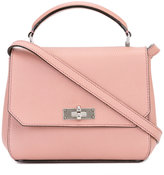 Bally removable strap tote