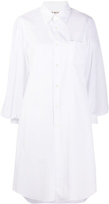 Comme des Garcons Cotton Shirt Dress