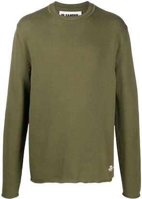 Jil Sander Knitted Cotton Jumper