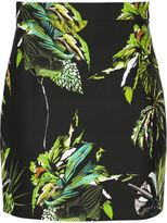 Proenza Schouler floral print mini skirt - women - Nylon/Silk - 4