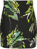 Proenza Schouler floral print mini skirt