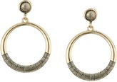 Sam Edelman Etched Gypsy Hoop Earrings