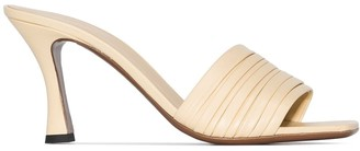 Neous Sham 80mm leather mules