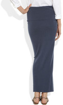 Donna Karan Stretch-cashmere tube skirt
