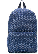 Armani Junior all-over logo backpack