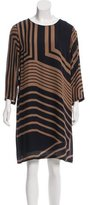 Stella McCartney Silk Striped Dress