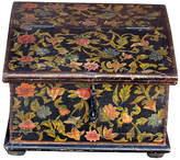 One Kings Lane Vintage Floral Slant-Front Desk Box