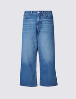 Limited Edition High Waist Cropped Slim Bootcut Jeans